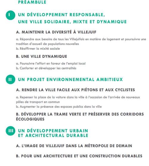 Conseil municipal du 27 mars acte I : le Projet d'Aménagement et de Développement Durable du PLU