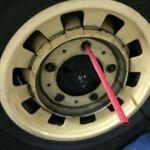 Remise en place roue après crevaison