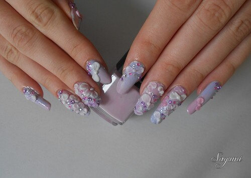 Nail Art 3D Kawaii Japan style