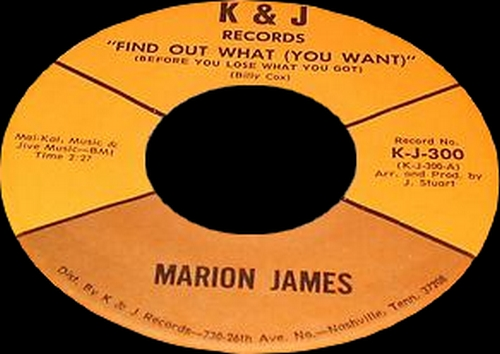 "Marion James : CD "" Marion James & The Hypnotics "" PhonoComp Records AP 104-2 [ IT ]"
