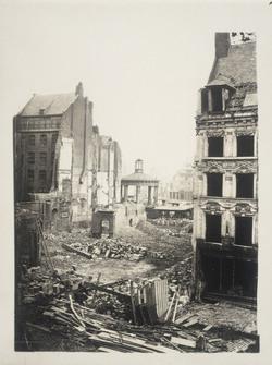 La rue de l'Ancien Régime au 19ème siècle