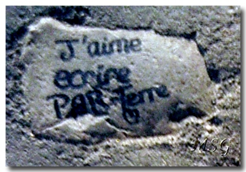 Sur les pavés, l'amour - On the pavements, the love