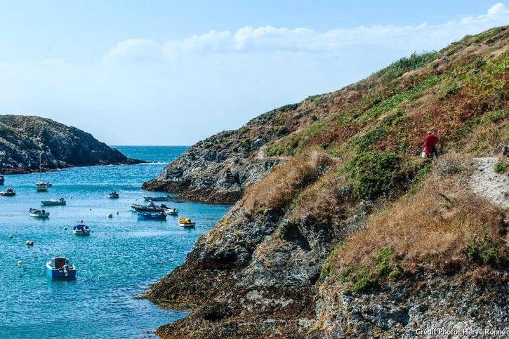 Port-Goulphar, à Belle-Île-en-Mer