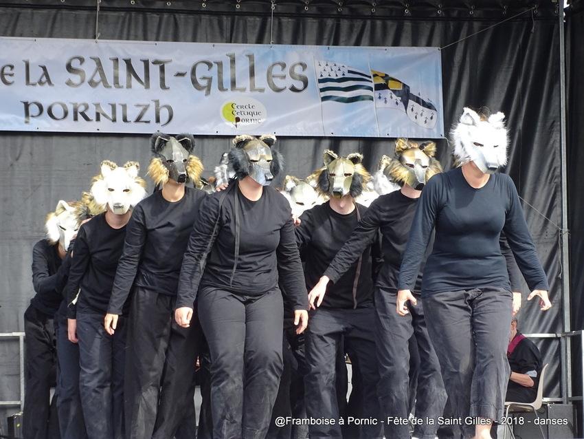 Pornic, Fête de la Saint Gilles 2018 - Danses