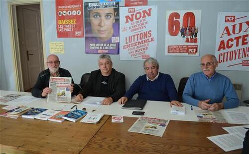 Parti Communiste Français du Bassin Creusotin dit « NON au projet de Traité Européen »