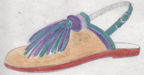 sandales, tongues