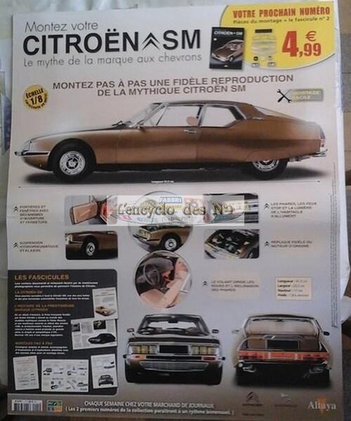 N° 1 Montez votre Citroën SM - Test