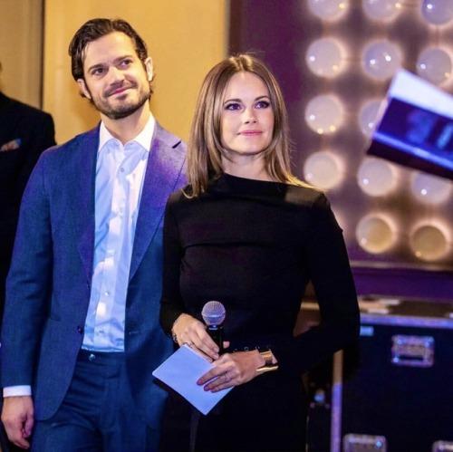 CP et Sofia de Suède