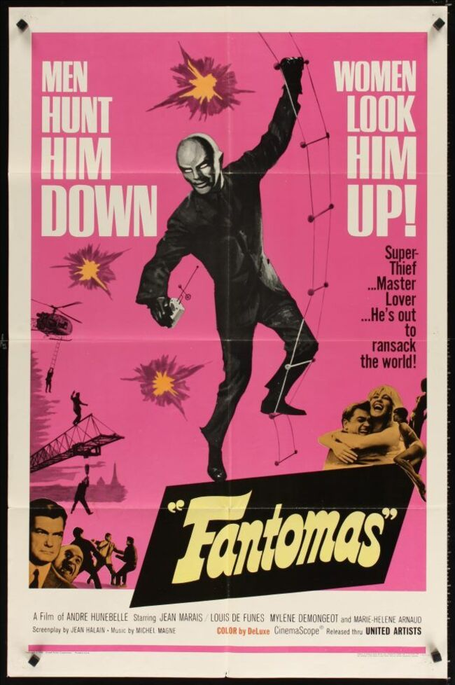 FANTOMAS BOX OFFICE USA 1966