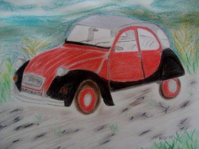 Superbe deudeuche dessin?e par sanfredo: voir le blog: http://sanfredo.skyrock.com/