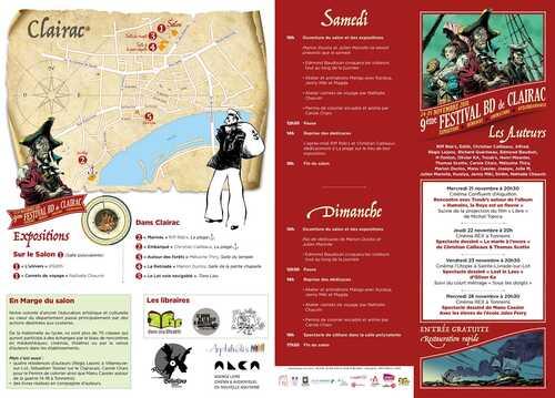 Le 9ème festival de la BD arrive à Clairac !