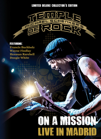MICHAEL SCHENKER'S TEMPLE OF ROCK - On A Mission Live In Madrid