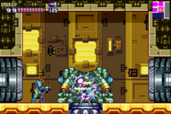 Metroid Fusion #6 Barrier Core X