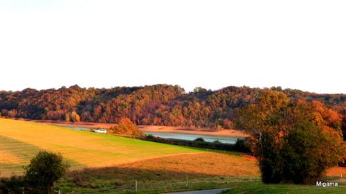 Paysages du Gers en automne ...