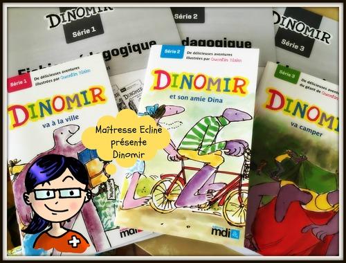 Maîtresse Ecline vous présente Dinomir