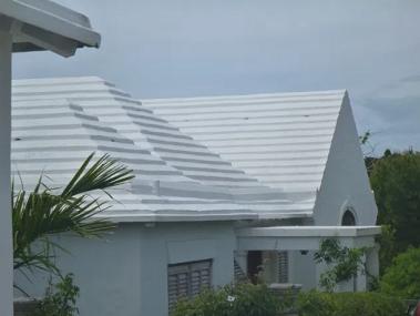 Les toits des  Bermudes ...