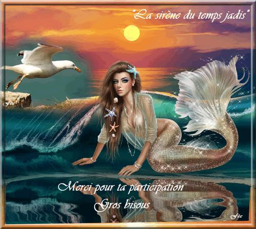 """Défi """"La sirène du temps jadis"""""""