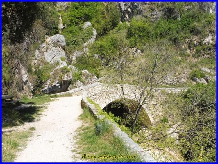 Gorges du Verdon, le sentier de la chaîne