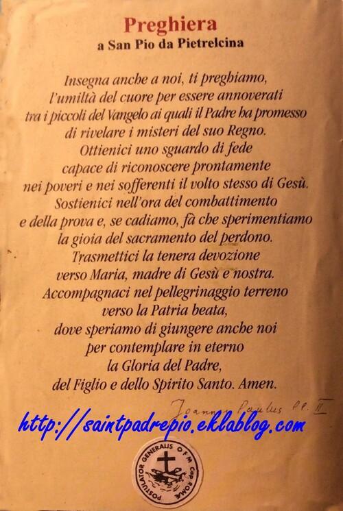 Preghiera a San Pio da Pietrelcina (3)