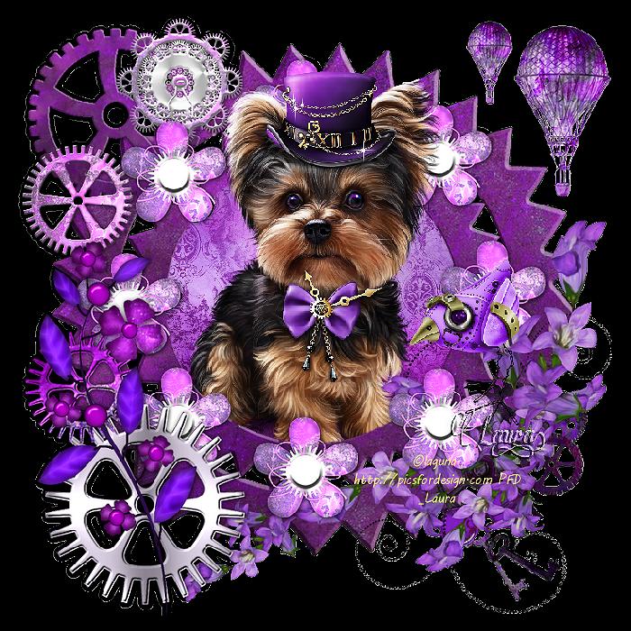 chien steampunk