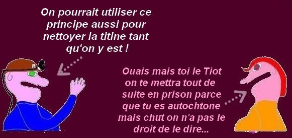 Douche gratuite à Paris, LGBT et les macronites, humour etc..