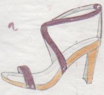 sandales à talons, sandals