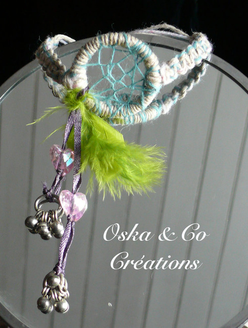 Bracelet dream catcher ou attrape-rêve
