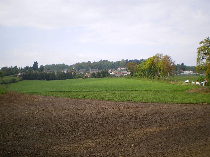 Vue générale de Roumégoux