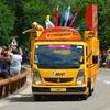 2014 Tour de France. Caravane BIC