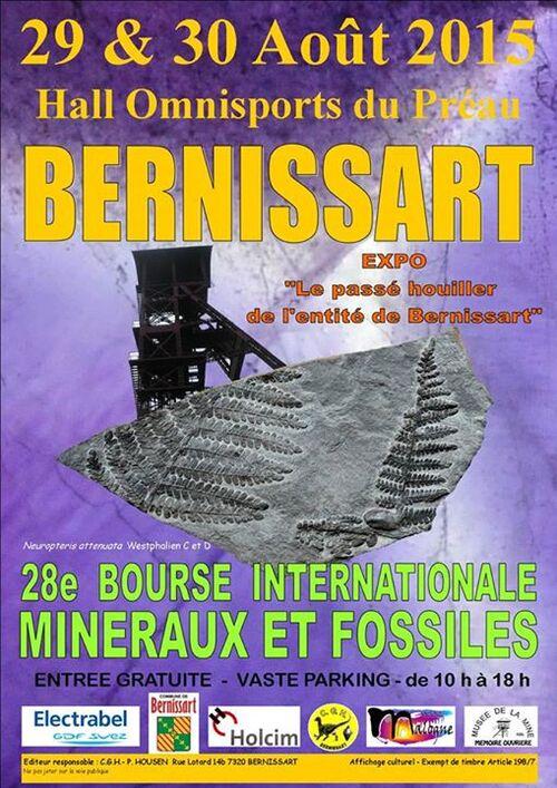 Bourse de Bernissart...