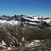 Du Vértice de Anayet (2559 m), Punta Escarra, Pala de Ip, Collarada et Moleta