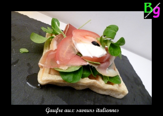 gaufre italienne version 2