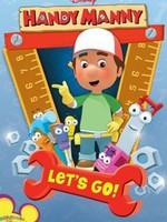 Manny et ses outils affiche