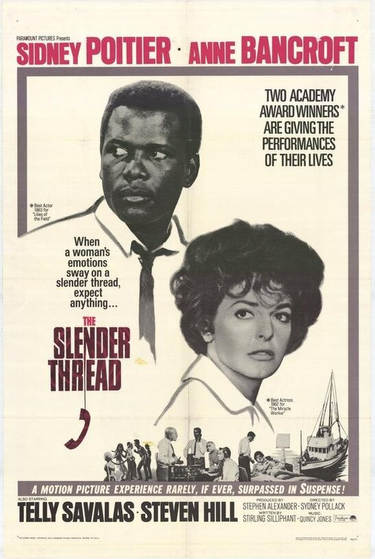 THE SLENDER THREAD BOX OFFICE USA 1965