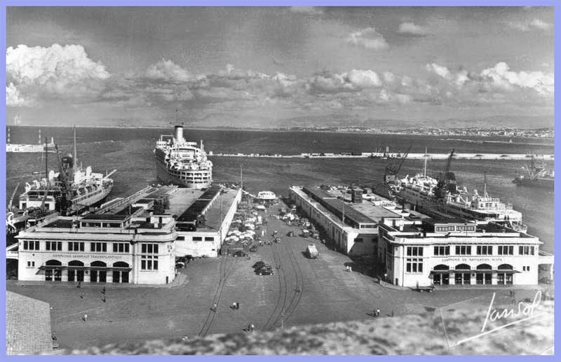 Alger - Les Gares Maritimes