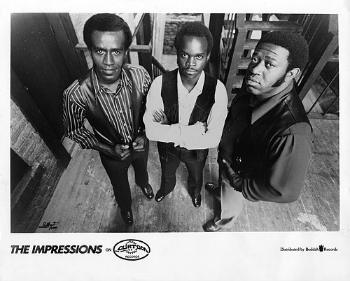 The Impressions : Biographie