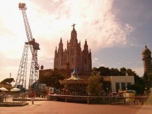 Que faire a Barcelone parc Tibidabo