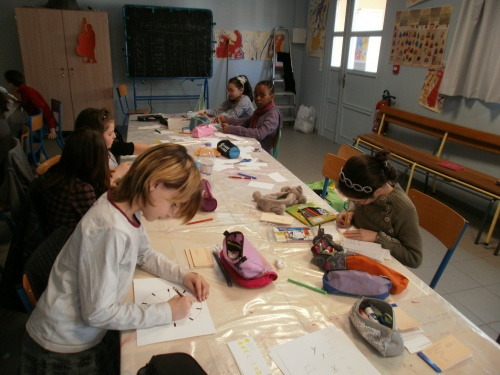 L'atelier CM2