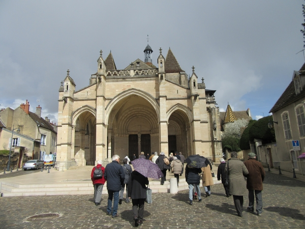 La basilique collégiale Notre-Dame de Beaune