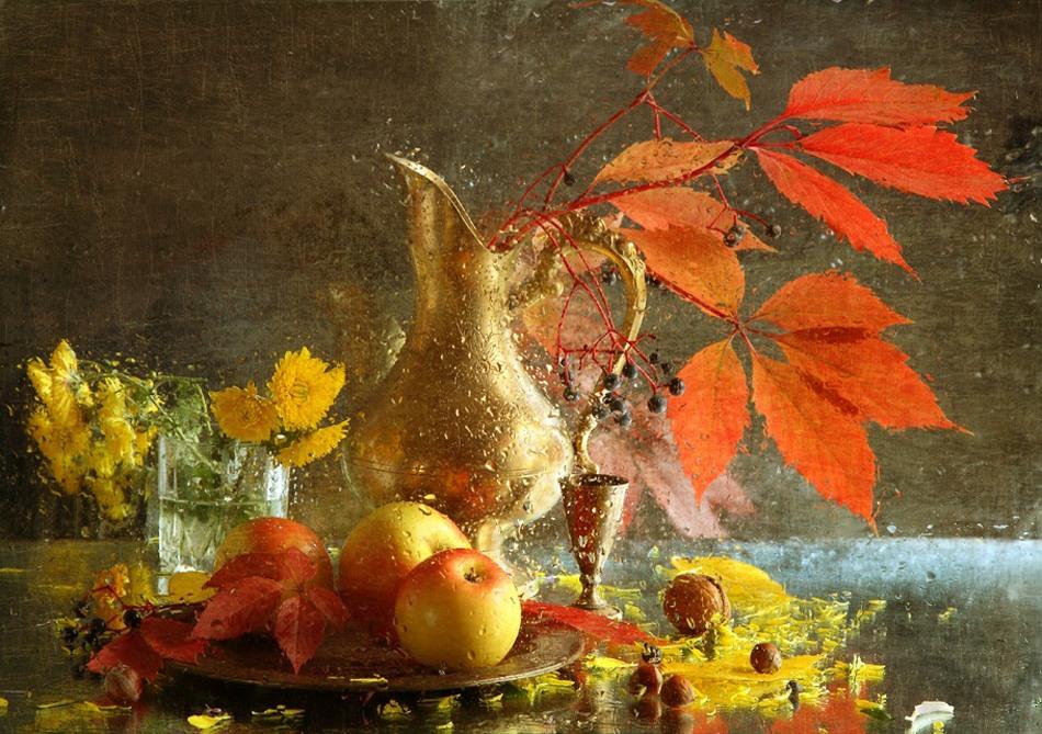 秋天的静物画