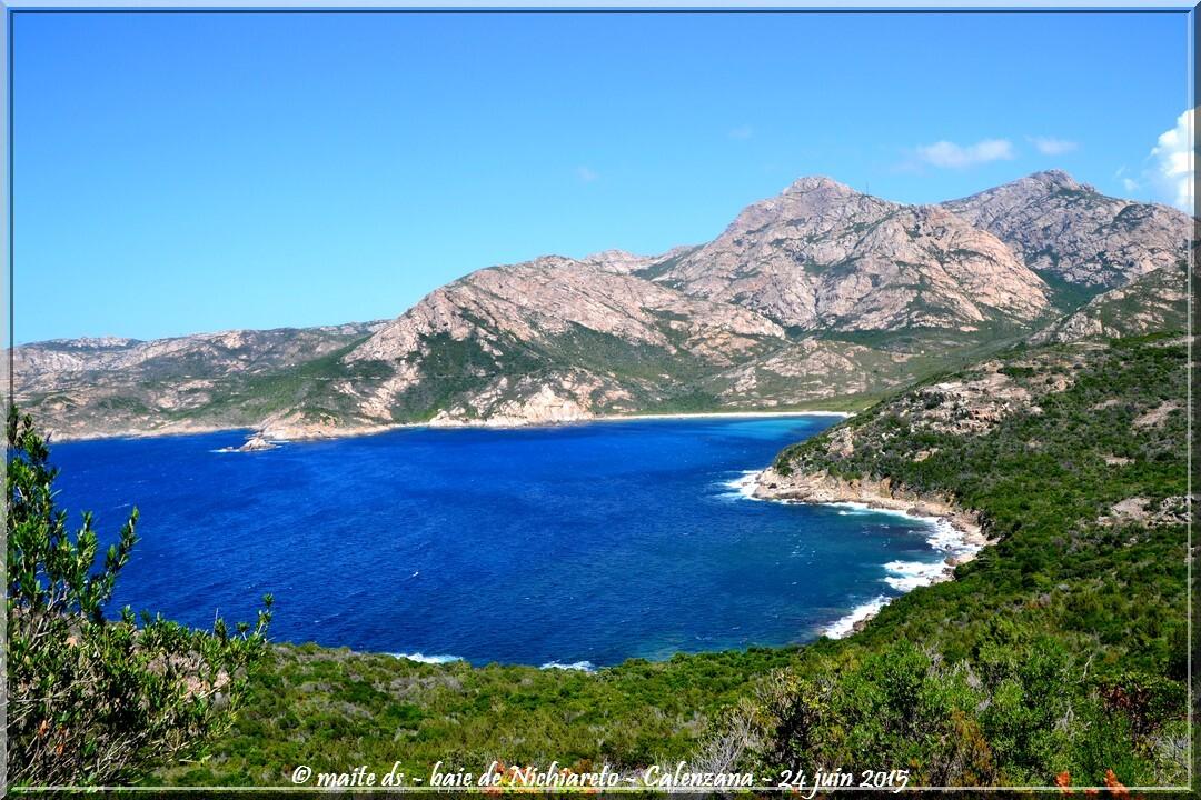 Baie de Nichiareto - Calenzana - Corse