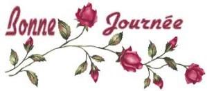 bonne journée roses