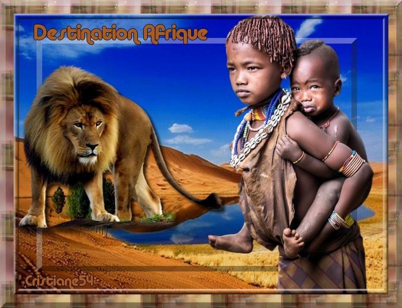 Destination Afrique pour mon amie Mary Poppins !