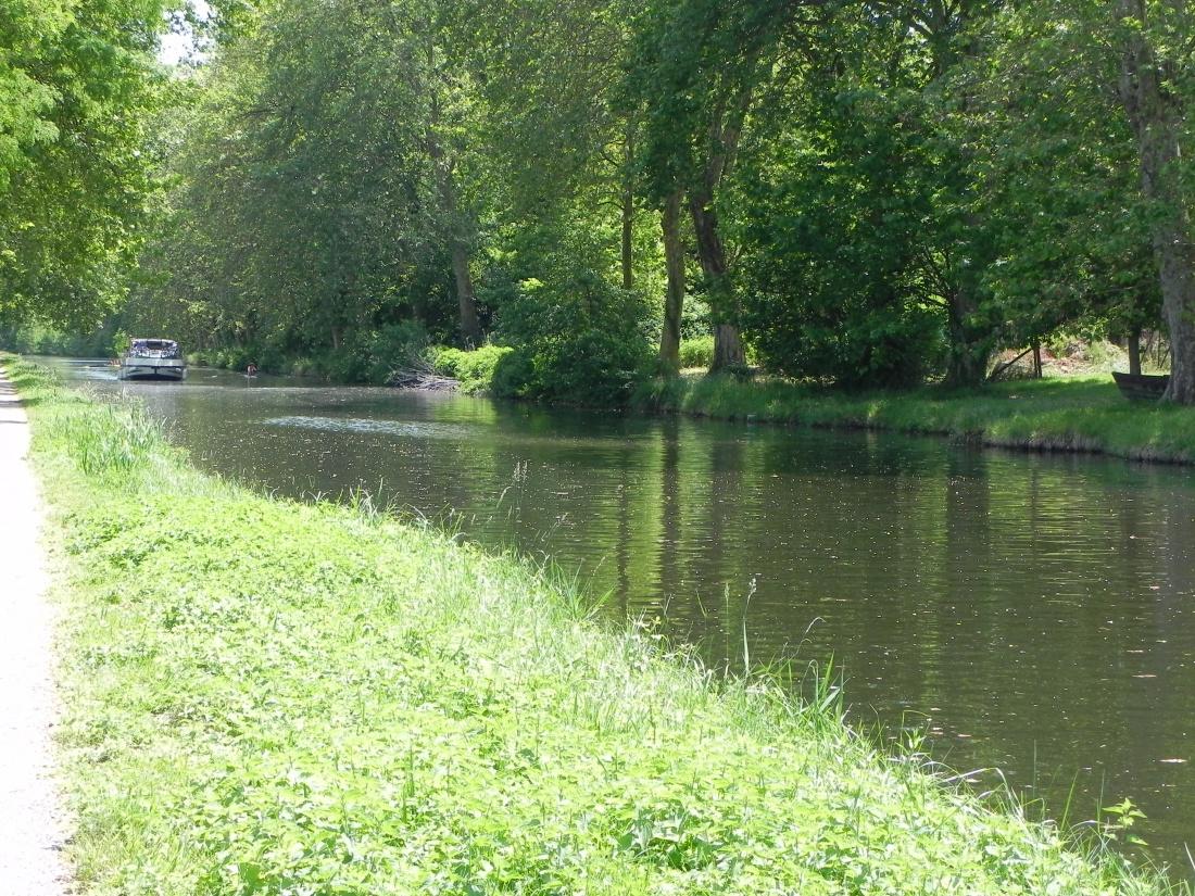 ballade en vèlo le long du canal !