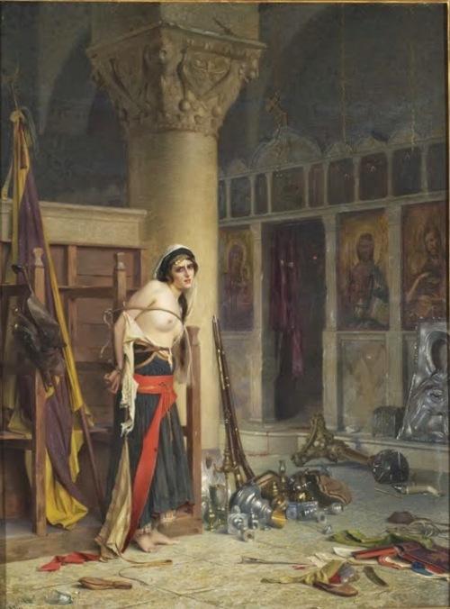 Theodoros Rallis (Theodore Jacques Ralli) : portraits de femmes * Θεόδωρος Ράλλης