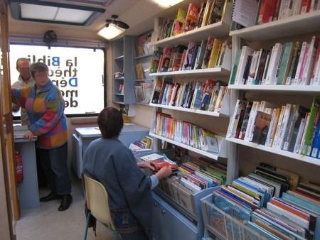 Bibliobus, un service de la BDP 84