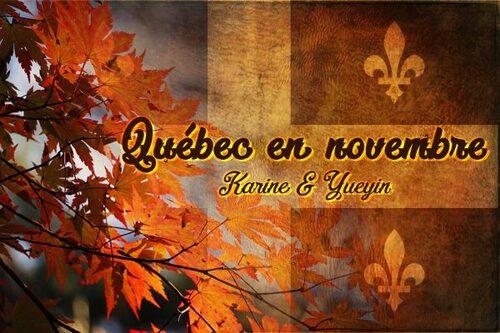 Québec en novembre 2018