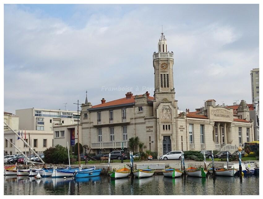 Palais consulaire à Sète