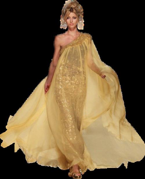 Femme en robe de soirée 5