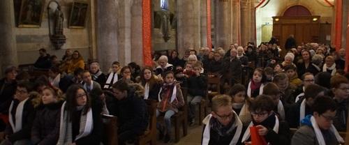 La messe des familles du 13 Janvier